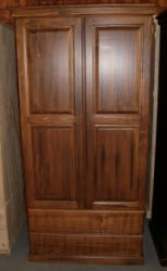 3' 2 door 2 Drawer Solid Robe