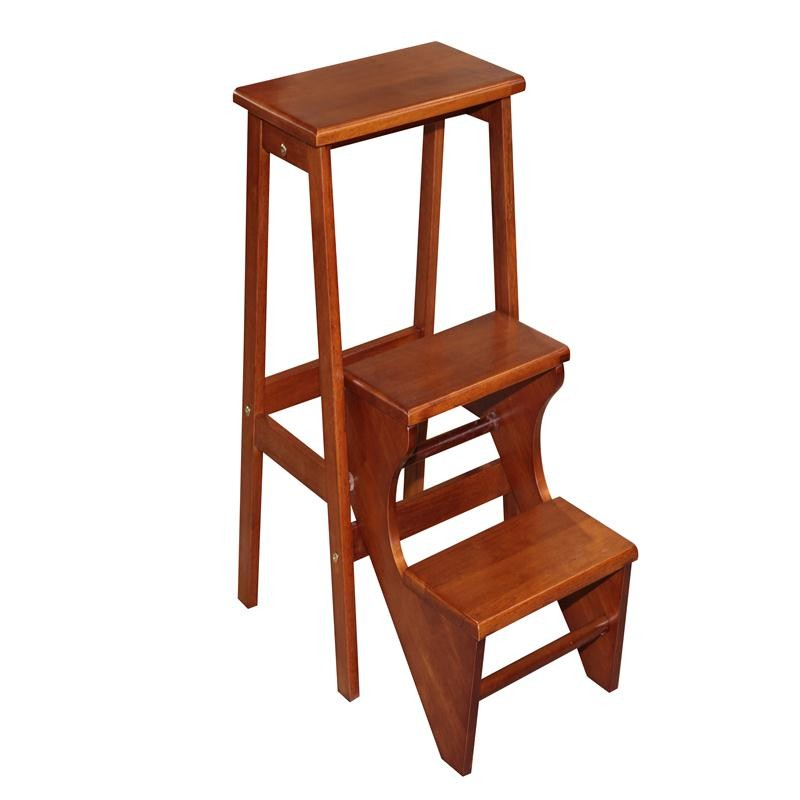 Rubberwood step stool