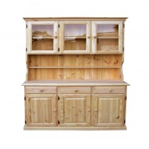 Solid 3 door 3 drawer Dresser