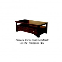 Pinnacle Coffee Table with shelf