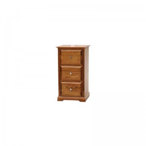 3 Drawer Ashton Filing Cabinet in Tassie Oak