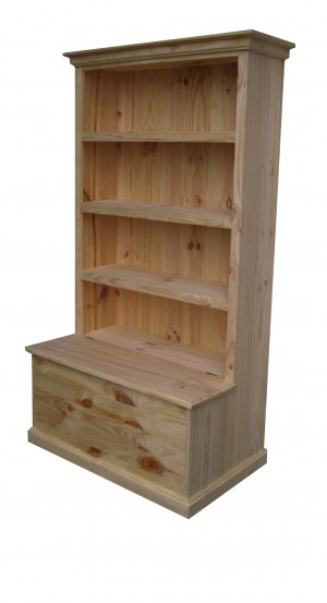 6x4 Bookcase with toy box